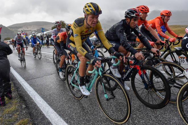 GIRO-DEBUT: Unggutten fra Vingrom fikk sin første Grand Tour-start i 2020. FOTO: Cor Vos