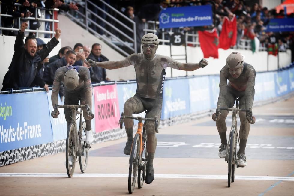 Roubaix 2021 målgang