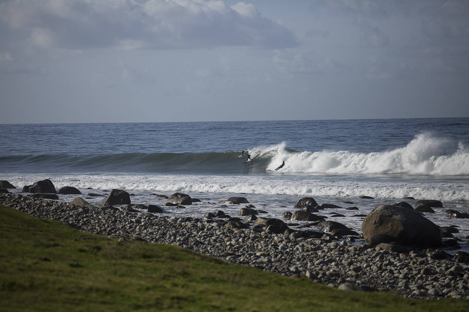 Det største miljøet for surfing i Norge finner du i Stavanger. Bilde: Christian Nerdrum