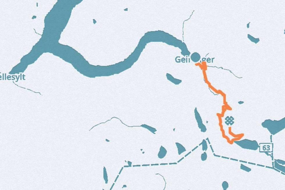 Dalsnibba kart geiranger guide sykkel
