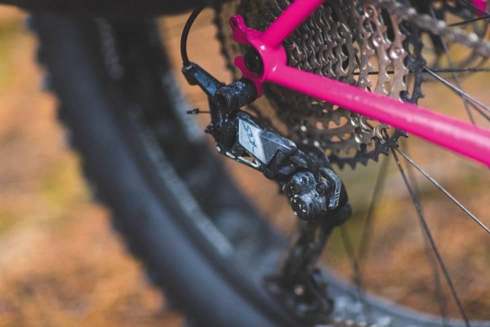 drivverk gir sykkel