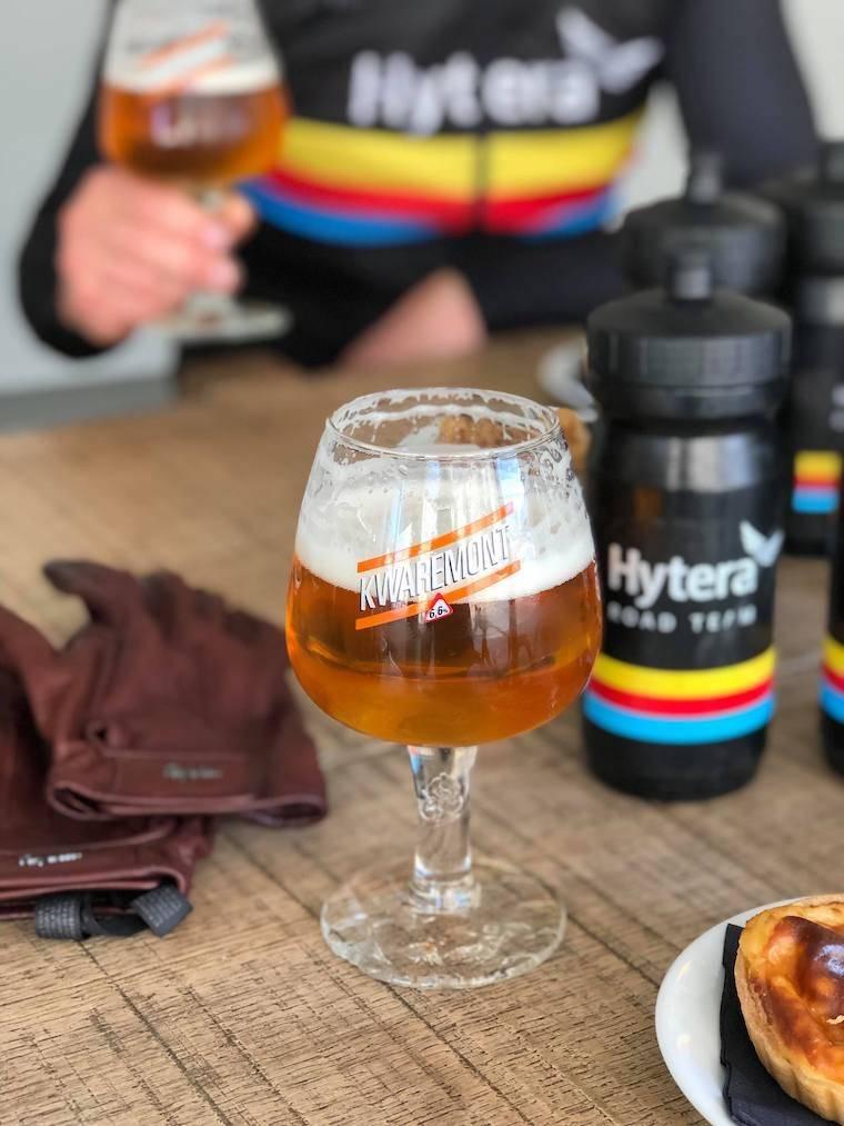 Belgisk øl i Dwars Door Iddefjorden