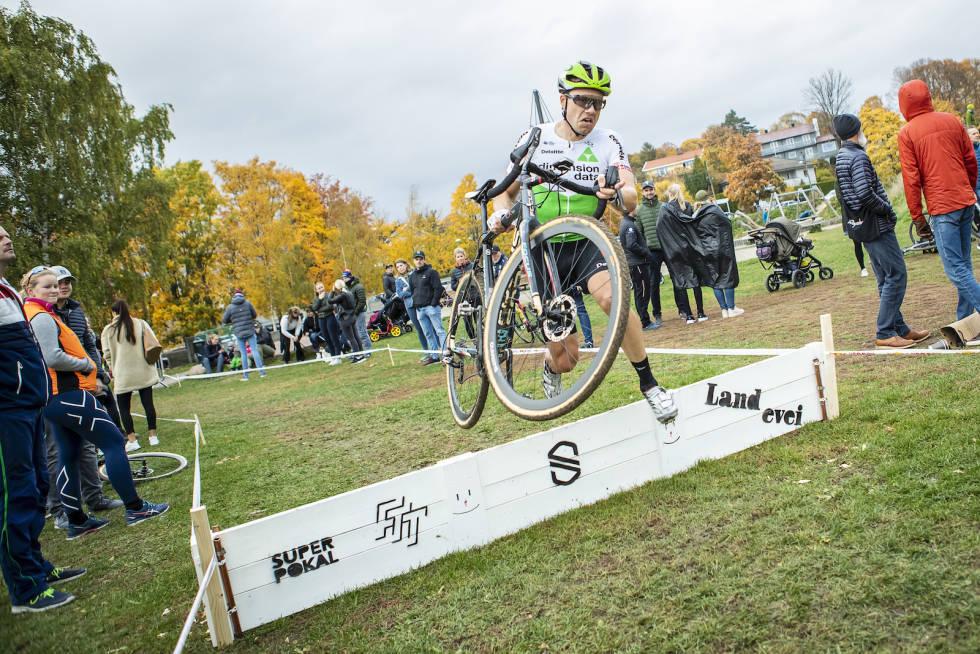 STAMGJEST: Edvald Boasson Hagen har vært med på de fleste utgavene av Superpokal Voldsløkka, men har fortsatt til gode å vinne rittet. Foto: Pål Westgaard