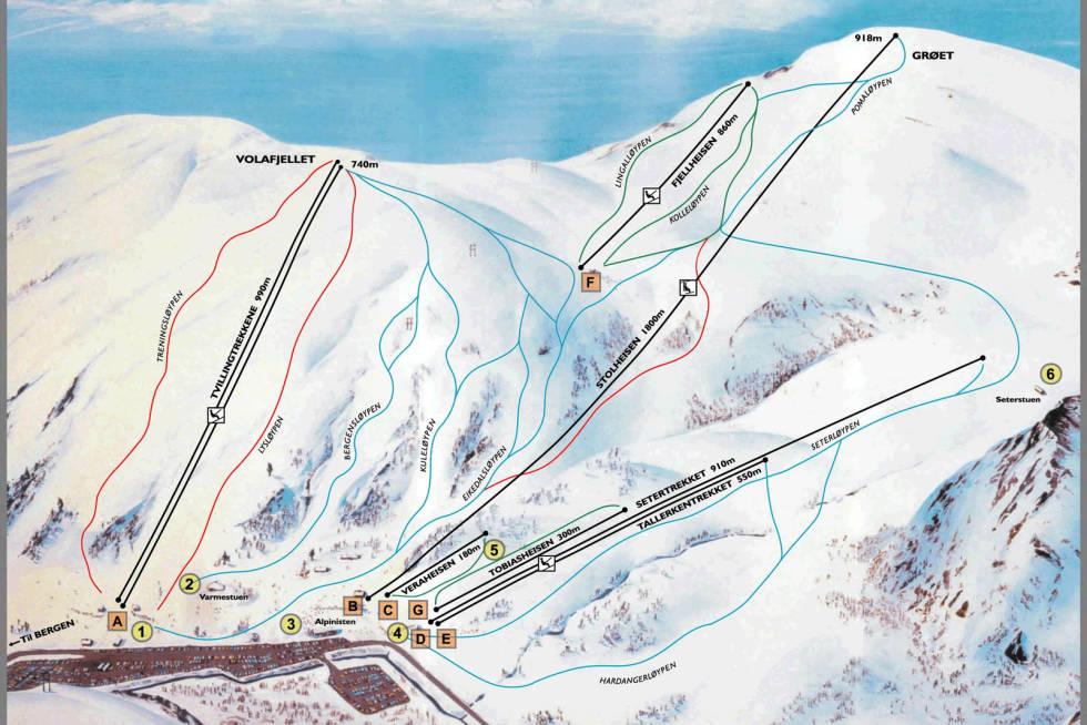 løypekart fri flyt guide eikedalen bergen kvamskogen snowboard ski