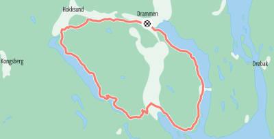 Eikerenrunden-kart