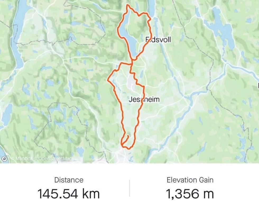 Elisabeth Solbergs halvlange langtur over MInneåsen