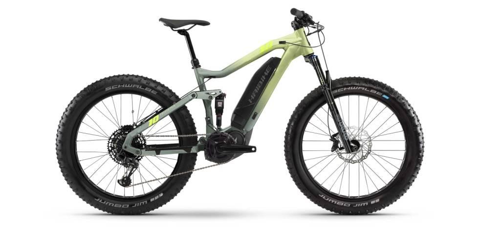 elsykkel fatbike 2021 haibike