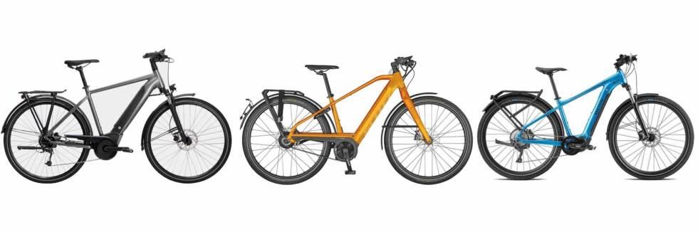 elsykkel hybrid bysykkel 2021