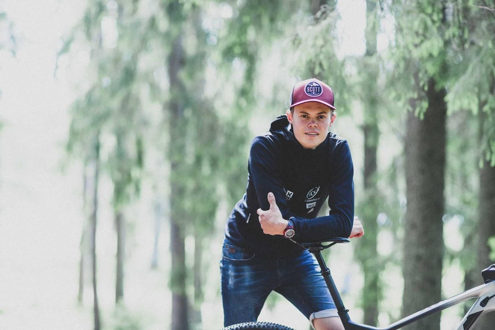 erik hægstad intervju 2020 terrengsykkel
