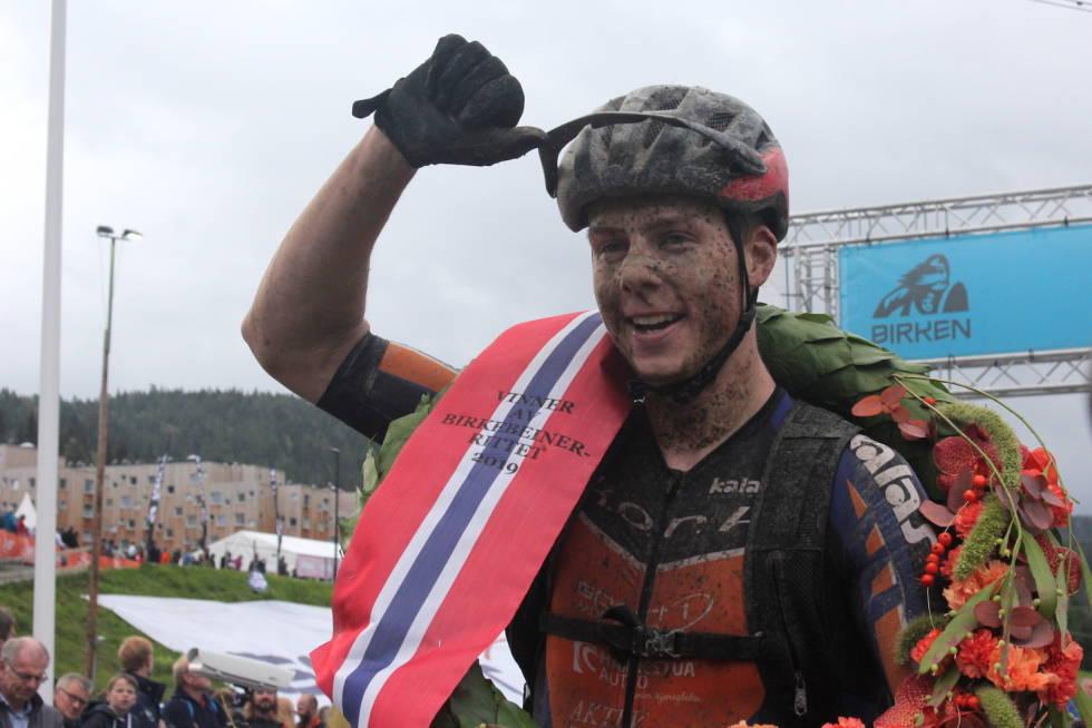 Eskil Evensen-Lie vant Birkebeinerrittet 2019