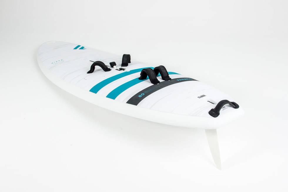 Kjøl på windsurfingbrett