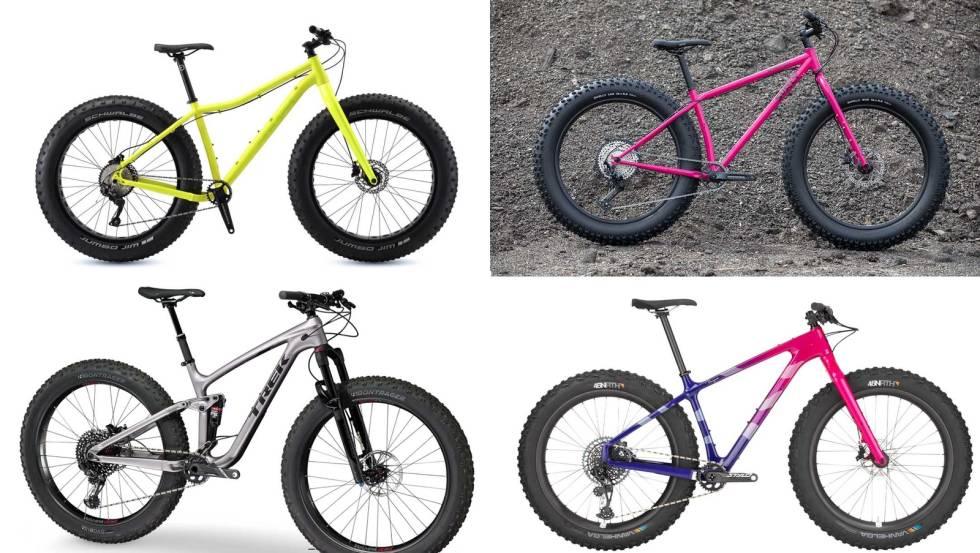 fatbike modeller typer varianter