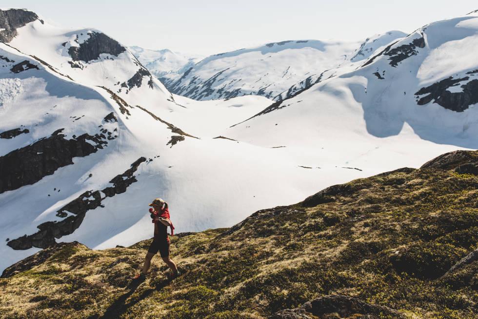 fjelltur til blåfjellet i olden stryn