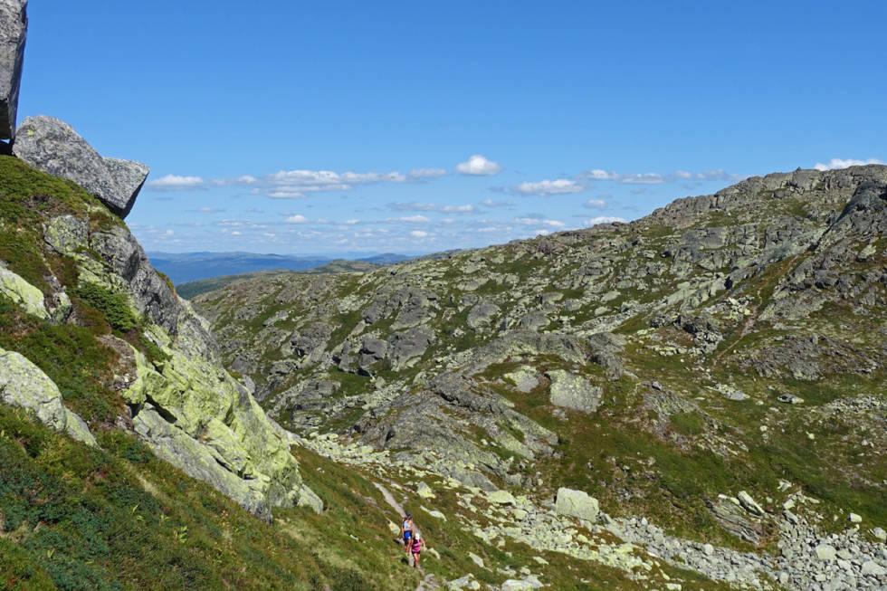 Toreskyrkja Rjukan Gaustablikk tur fottur fjelltur