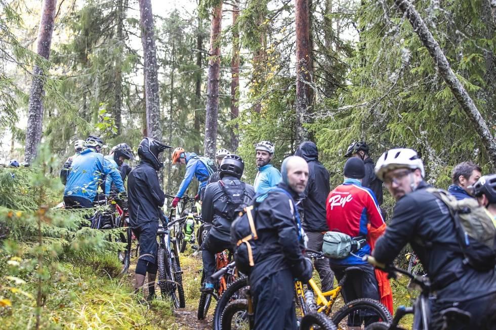 Folksomt på Krokskogen. Foto: Pål Westgaard
