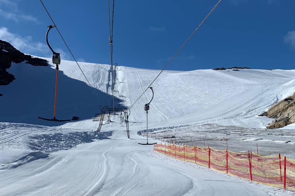 Fonna folgefonna forhold skiheis sommerski guide tips