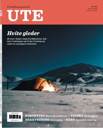 Forside på UTEmagasinet #113