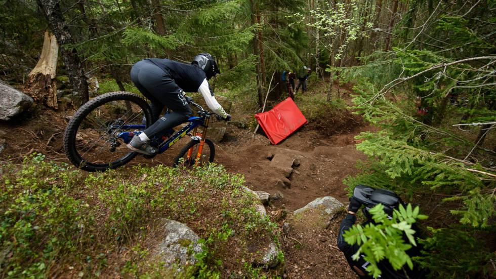 Emil haugom sykler redwood i drammen bike park