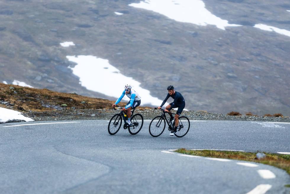 Fredrik Dversnes - Terje Selle Rundberg - Aurlandsfjellet 2021