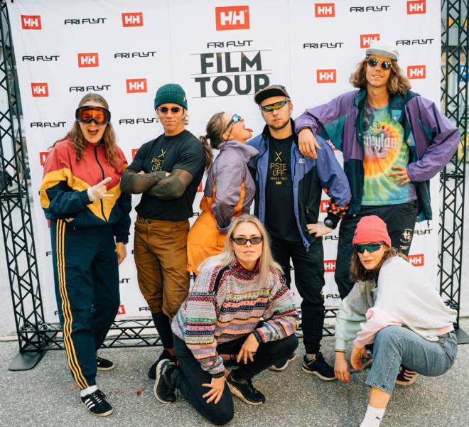 Fri Flyt Film Tour skifilm