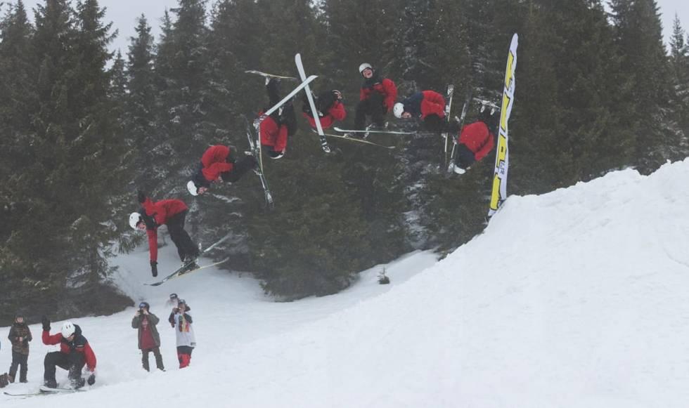fri flyt megapark hafjell ski park twin tip