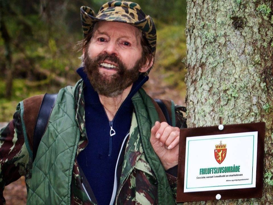 Sverre M Fjelstad i 2015. Foto: Per Erik Fjeld