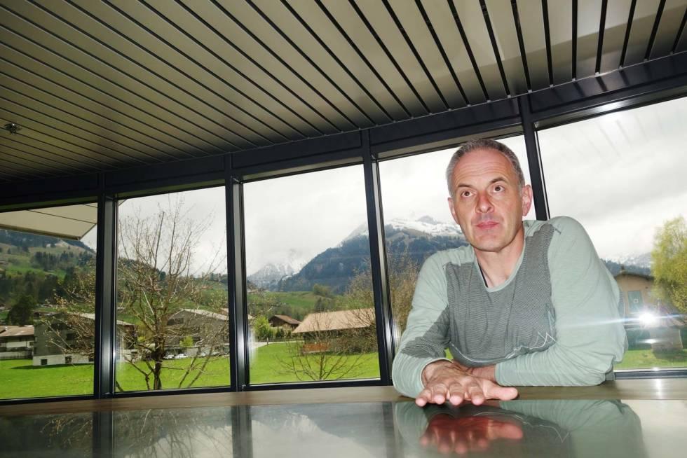 SJEFEN: Stefan Ibach har vært i selskapet siden 1999 og er nå direktør for Fritschi.