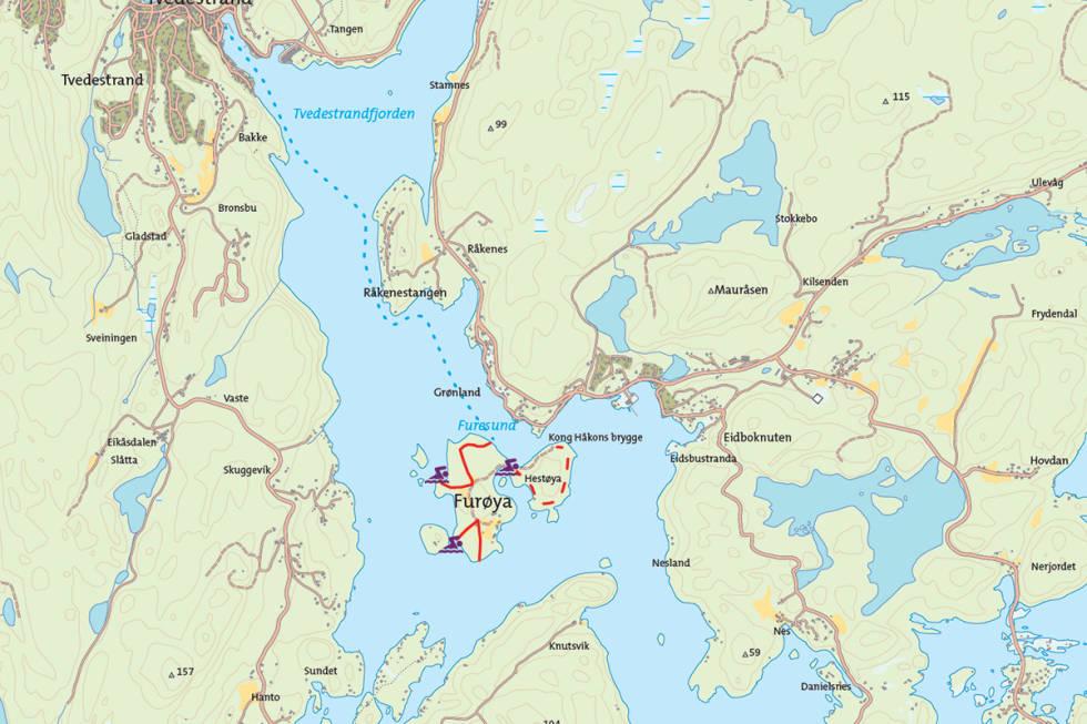 Furøya Sørlandet turguide