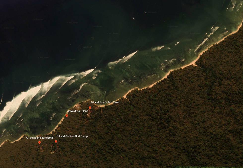 Indonesia er området på jorden med best bølger. G-Land på Java er blant de aller, aller beste.