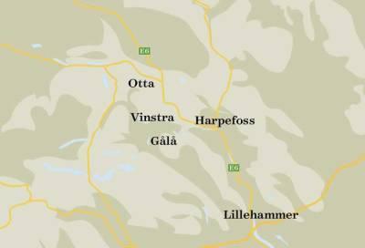 Gålå-kart
