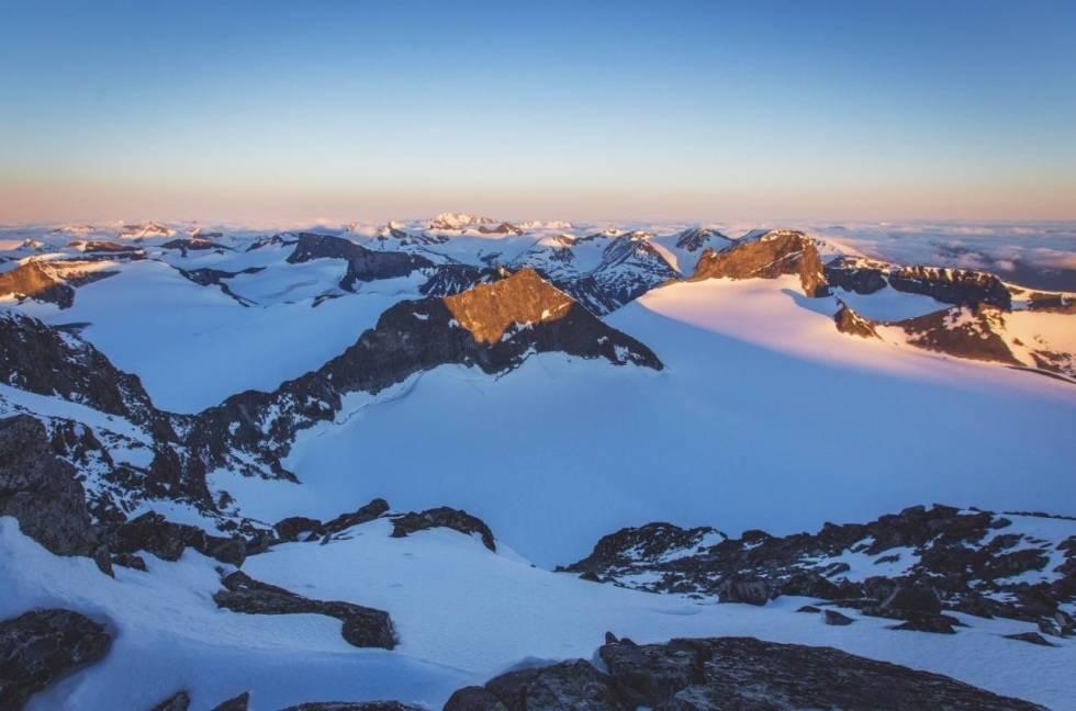 Galdhøpiggen som fjellskitur