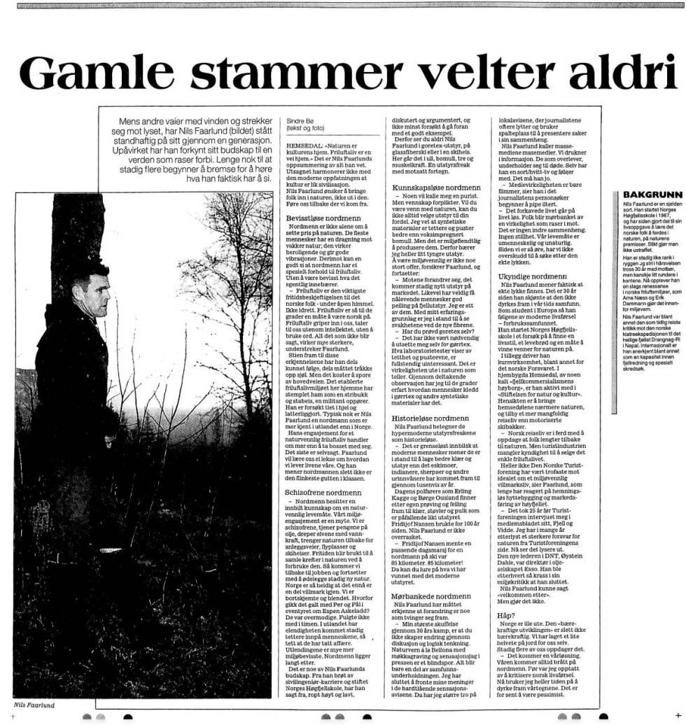 Gamle-stammer