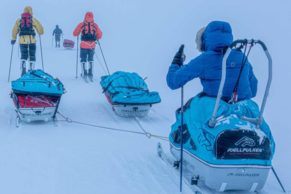 Tord Are Meisterplass ekspedisjon grønland foto forberedelser avreise