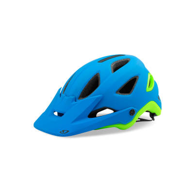 Giro Montaro MIPS Matte Blue Lime