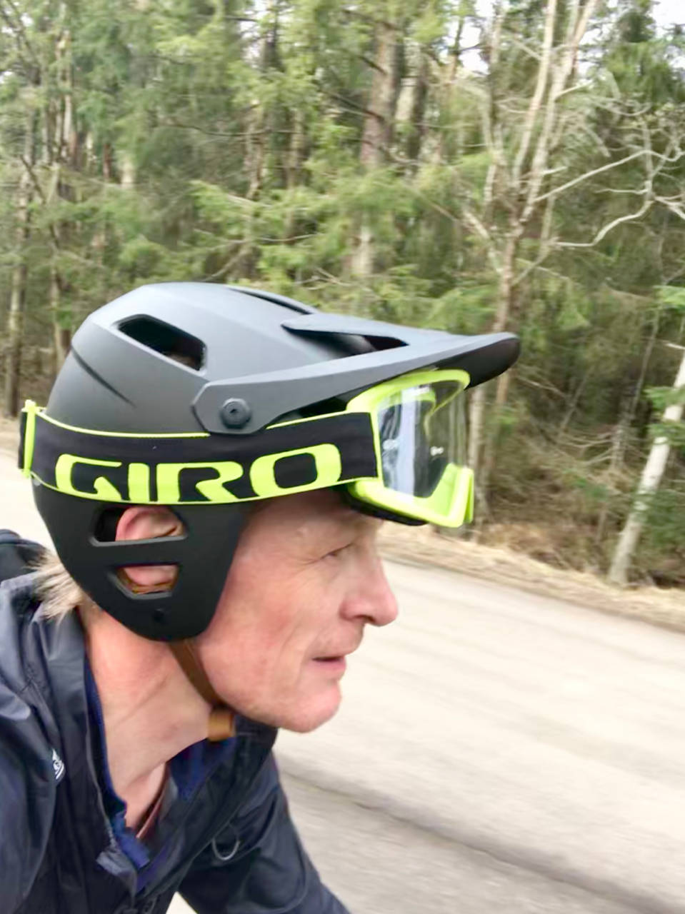 Giro Tyrant MIPS briller i panna