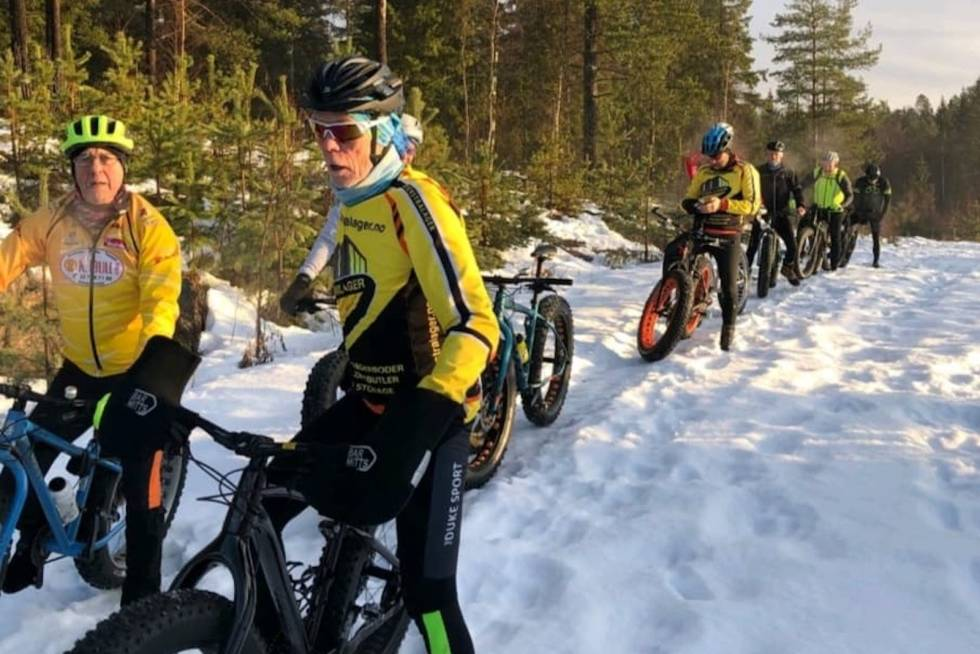 Global Fatbike Day 2019 Råholt