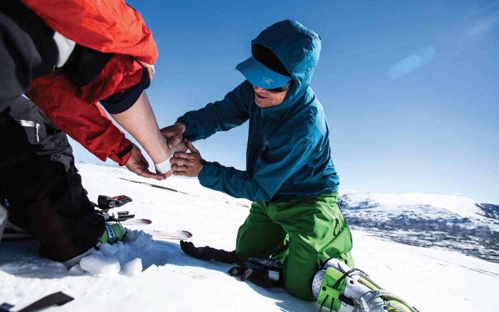 Gnagsår: Sportstape er en god hjelper hvis du får gnagsår. Foto: Christian Nerdrum