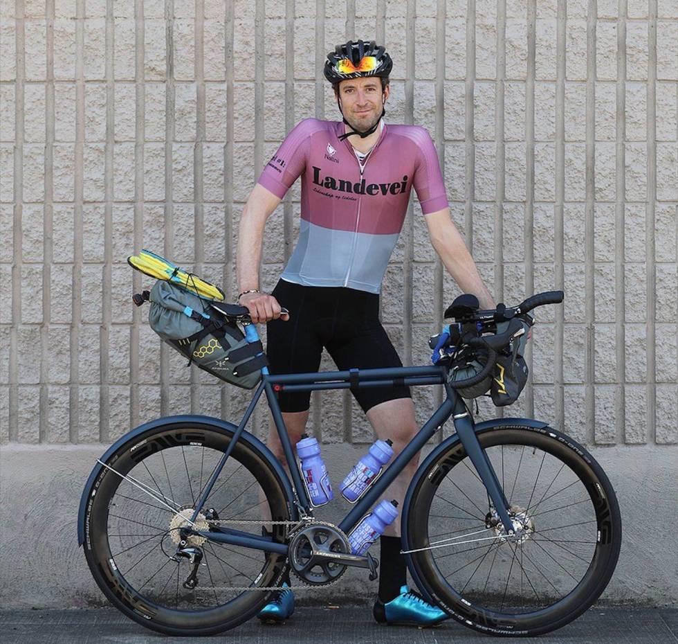 Henrik Alpers sykler gjennom USA