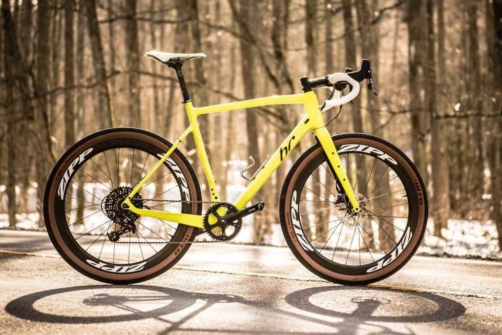 gravel sykkel fra hard rocx