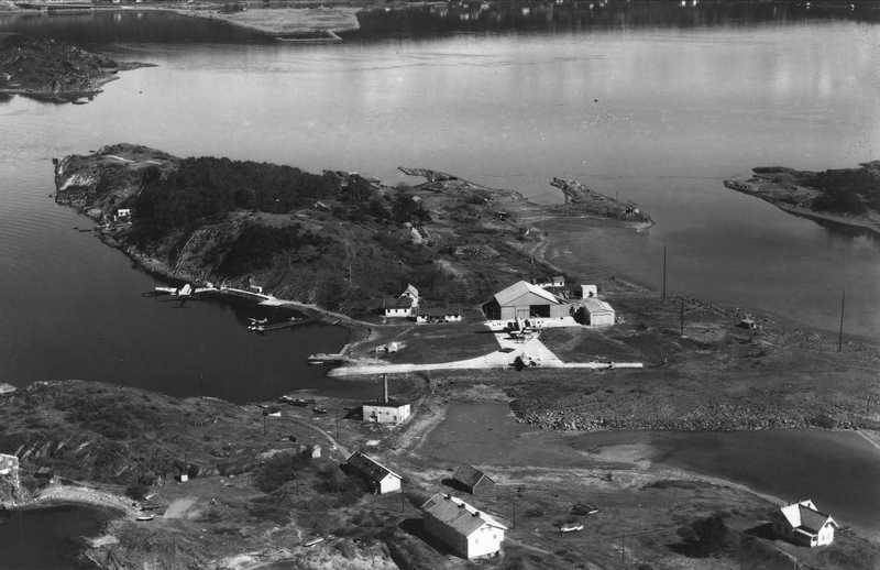 Gressholmen osloøyene flyplass
