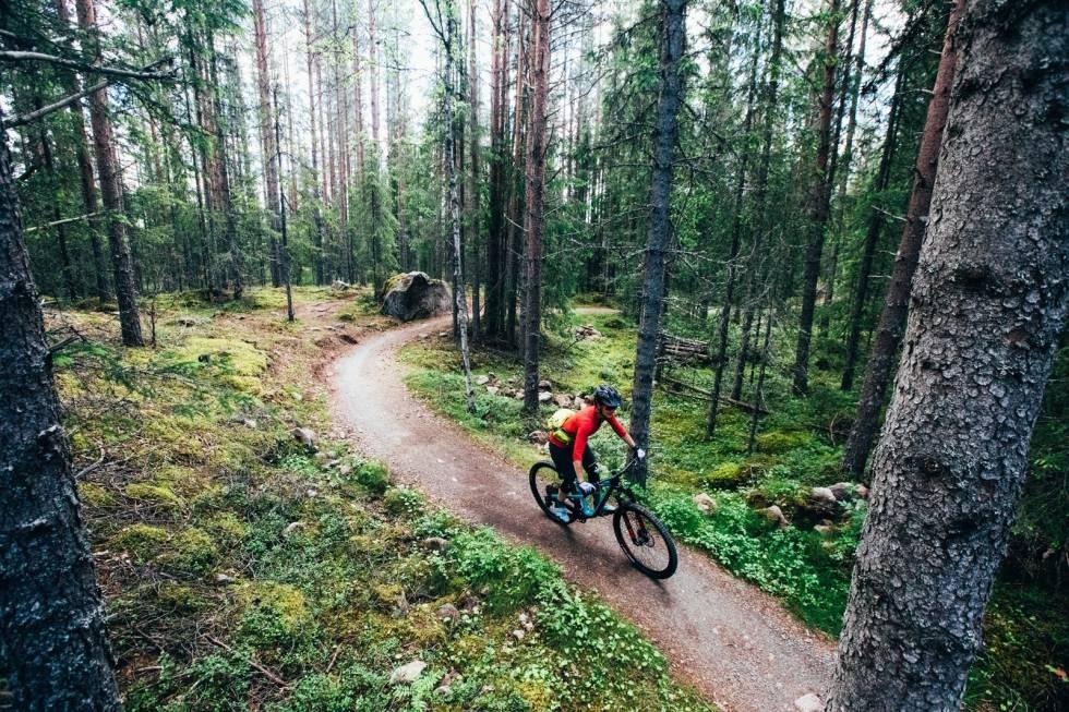 grønn sti i trysil bike arena