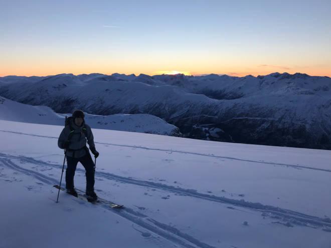 grøvelnebba topptur ski