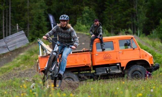 Huckfest terrengsykkel 2020 guide fri flyt foto