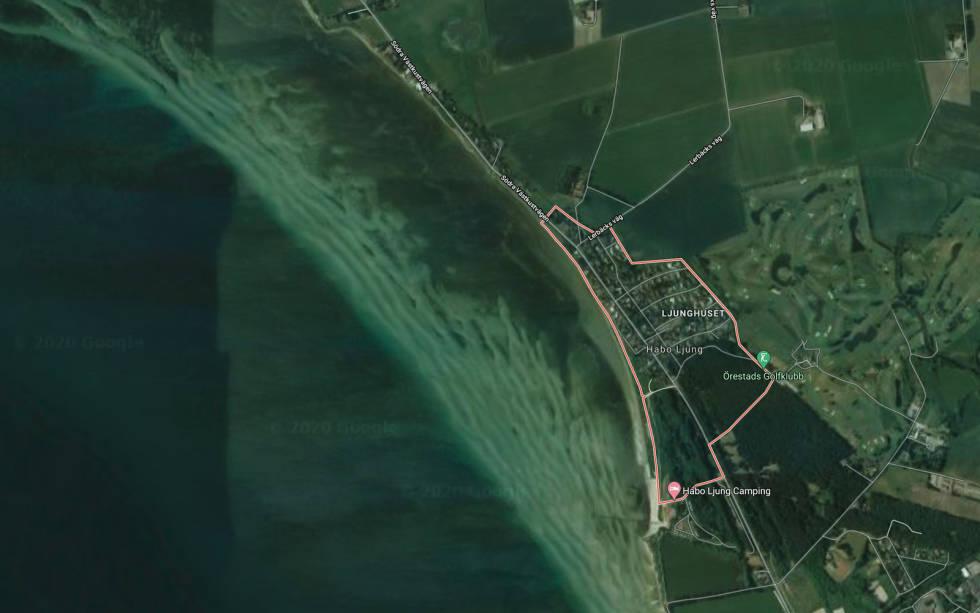 Habo Ljung Skåne kite spot