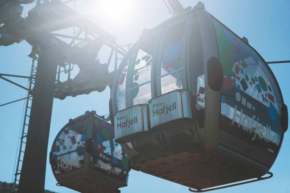 Gondolen i Hafjell Bike Park vil gå oftere i 2020-sesongen.
