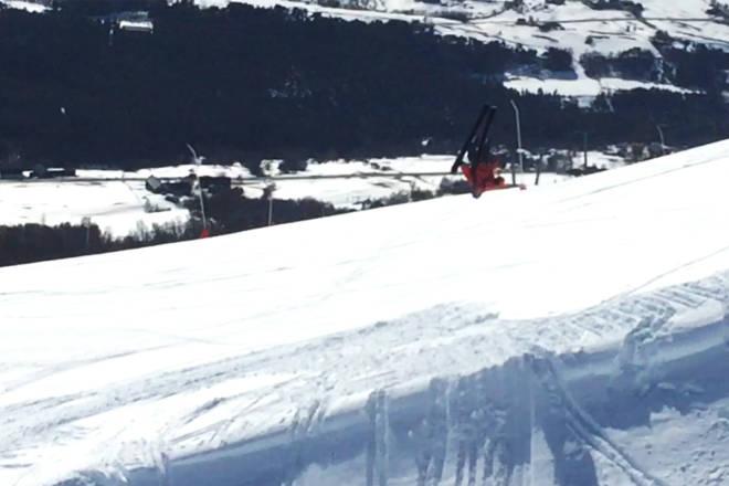 skitest topptur hagan