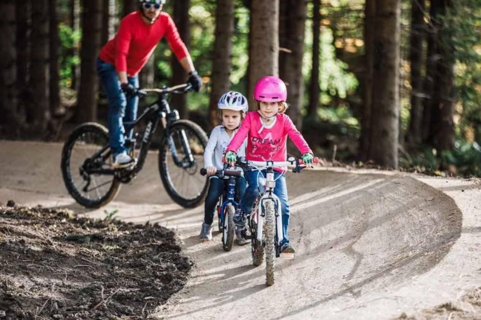 Flow trail Harstad Bike Park