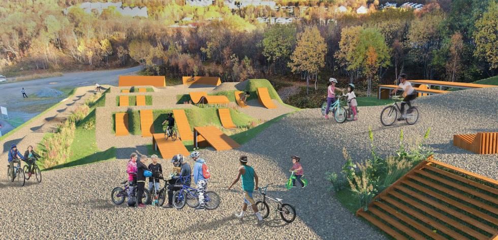 Harstad Bike Park hopp
