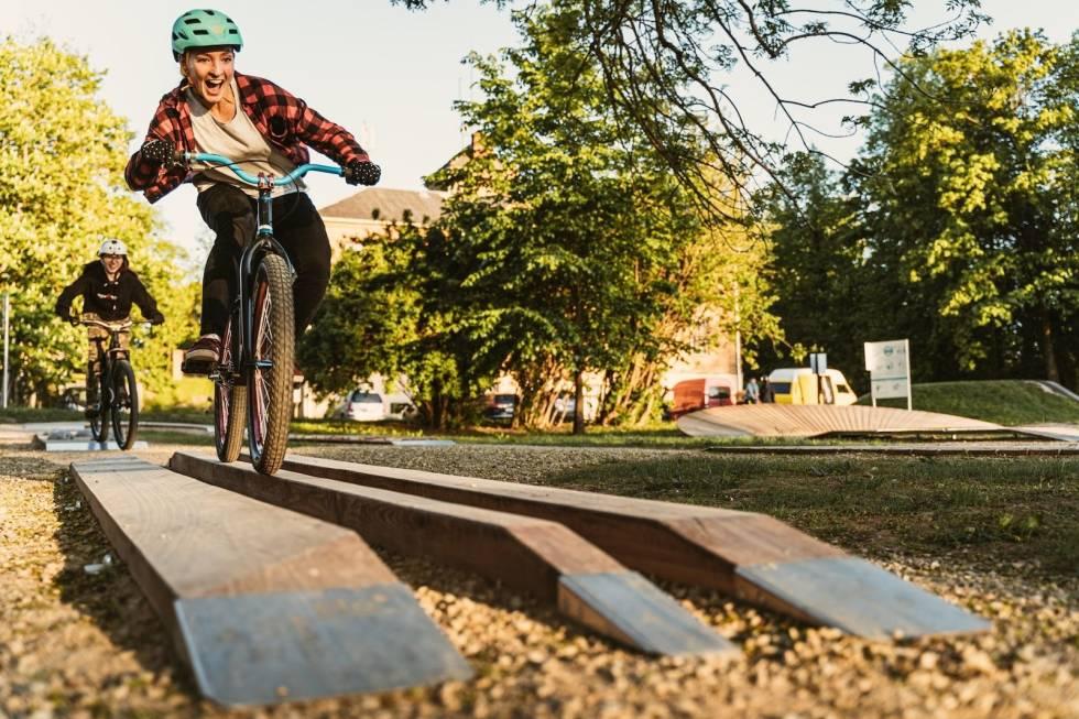 Ferdighetsløype Harstad Bike Park