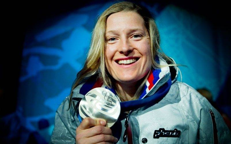 VANCOUVER: Hedda Berntsen tok OL-sølvet i skicross i 2010.
